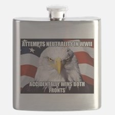 America Tried to Remain Neutral But ends up Flask