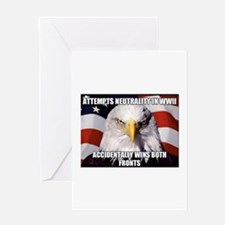 America Tried to Remain Neutral But Greeting Cards