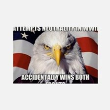 America Tried to Remain Neutral But ends u Magnets