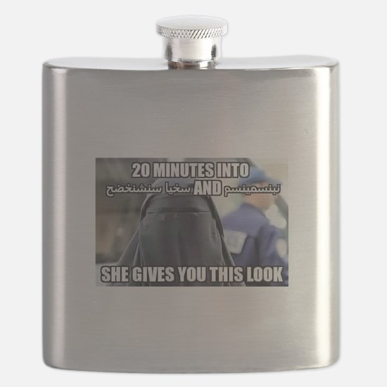20 Minutes into.... She gives you this look Flask