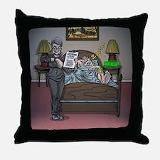 Cute Knee Throw Pillow