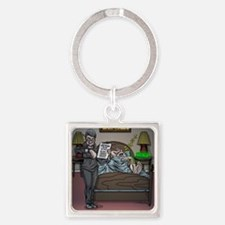 Knee surgery Square Keychain
