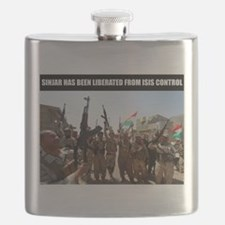 Mount Sinjar has been liberated by the Kurds Flask
