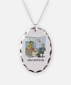 Funny Brain surgery Necklace