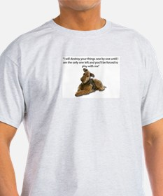 Airedale Pledging to Destroy all of their T-Shirt
