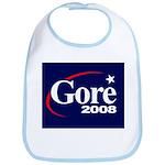 AL GORE PRESIDENT 2008 Bib