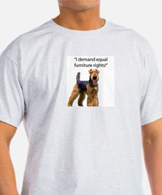 Cute Airedale terriers T-Shirt