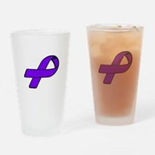 Unique Domestic violence sexual assault ribbon Drinking Glass