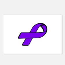 Cute Domestic violence awareness Postcards (Package of 8)