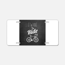 Bicycle Aluminum License Plate