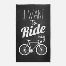 Bicycle Area Rug