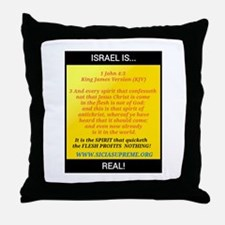 COME BE TAUGHT OF GOD! Throw Pillow
