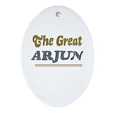 Arjun Oval Ornament