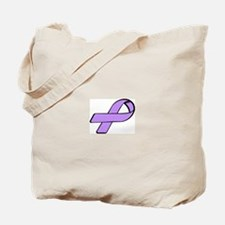 Unique General cancer lavender ribbon Tote Bag