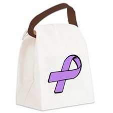 Unique Eating disorders Canvas Lunch Bag