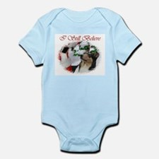 Smooth Collie Christmas Infant Bodysuit
