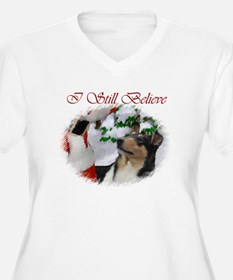 Smooth Collie Christmas T-Shirt