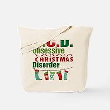 Unique Christmas yard Tote Bag