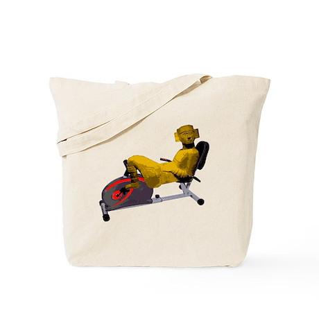 Chac Mool Recumbant Biker Tote Bag