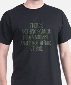 Scary Squirrel T-Shirt