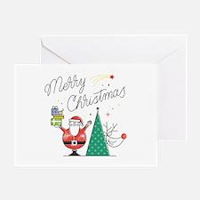 Funny Christmas yard Greeting Card