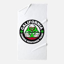 CA ZRT Green Beach Towel