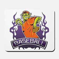 Fantasy Monster Baseball Pitcher Mousepad