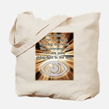 Light Of The Eyes Tote Bag