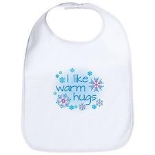 I like warm hugs Bib