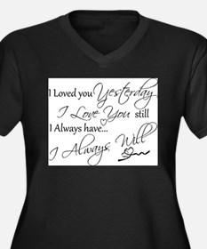 I love you Plus Size T-Shirt