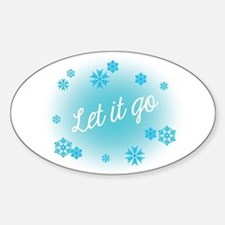Let it go Decal