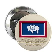 "Wyoming Proud Citizen 2.25"" Button"
