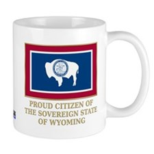 Wyoming Proud Citizen Mug