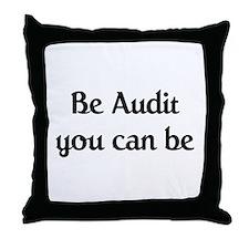 IRS Auditor Throw Pillow