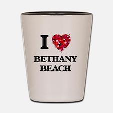 I love Bethany Beach Delaware Shot Glass