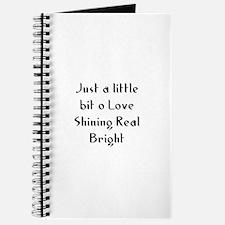 Just a little bit o Love Shin Journal