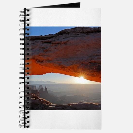 Sun Kissing Mesa Arch Journal