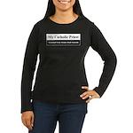 Honor Student Women's Long Sleeve Dark T-Shirt