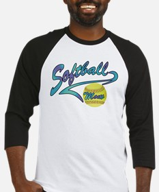 Fastpitch Softball Mom Athletic Tail Baseball Jers