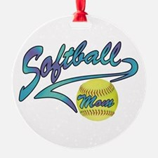 Fastpitch Softball Mom Athletic Ornament