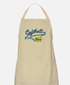Fastpitch Softball Mom Athletic Tail Apron