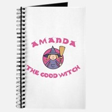 Amanda the Good Witch Journal