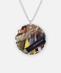 Airplane Mechanic Necklace