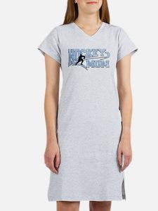 Hockey Mom Athletic Tail Women's Nightshirt