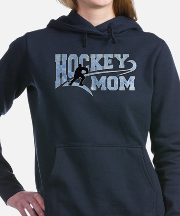 Hockey Mom Athletic Tail Women's Hooded Sweatshirt
