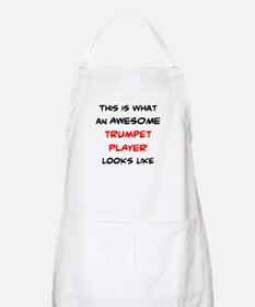 awesome trumpet player Apron
