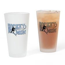 Hockey Mom Athletic Tail Drinking Glass