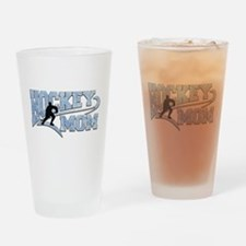Hockey Mom Athletic Tail Drinking Glass