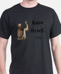 Cute Socrates quotes T-Shirt