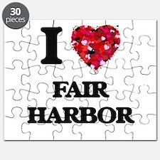 I love Fair Harbor New York Puzzle